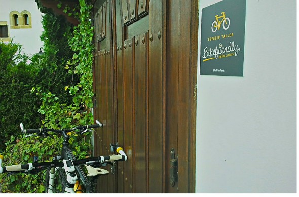 La Casona de Los Güelitos es Bikefriendly